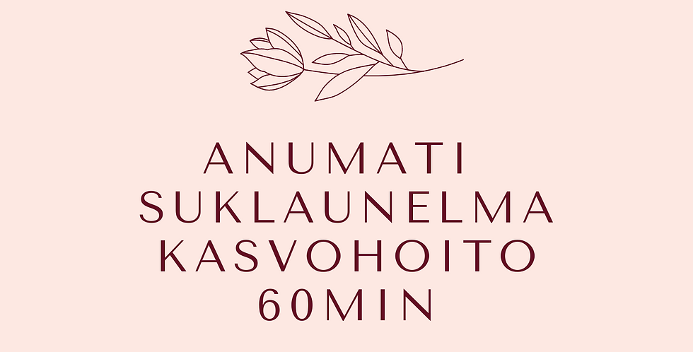 Lahjakortti Anumati Suklaaunelma kasvohoito 60min
