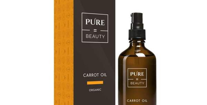 Pure=Beauty Carrot Oil 100ml  Luomu porkkanaöljy