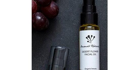 Anumati Naturals Desert flower facial oil elvyttävä kasvoöljy 25ml
