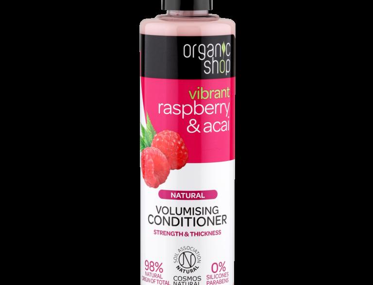 Organic Shop Raspberry & Acai hoitoaine 280 ml