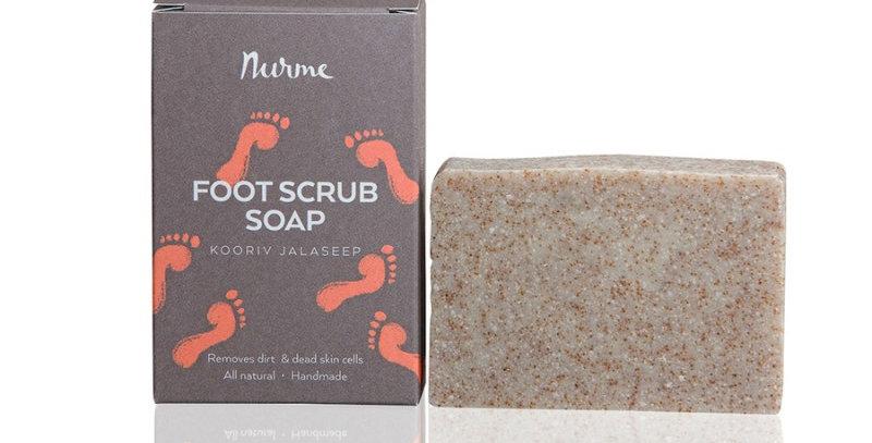 Nurme Foot Scrub Soap jalkakuorintasaippua