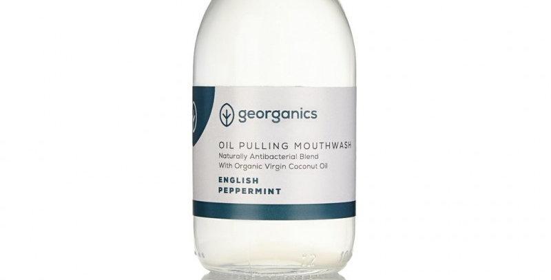 Georganics piparminttu Oil pulling
