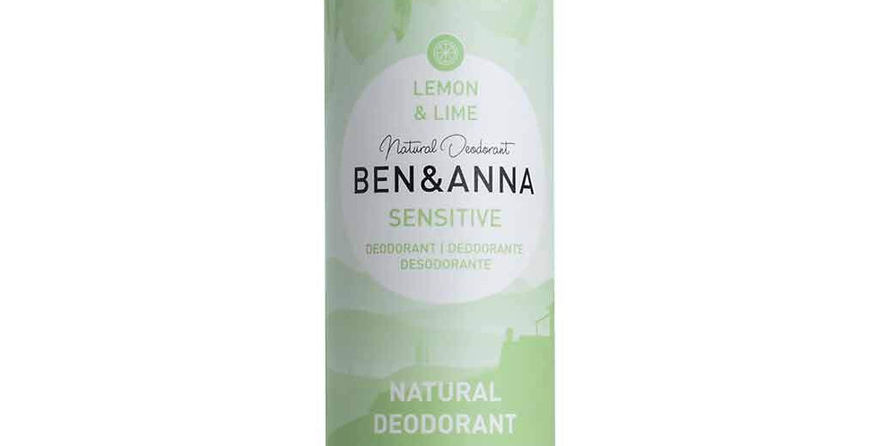 Ben & Anna Sensitive Lemon & Lime 60 g