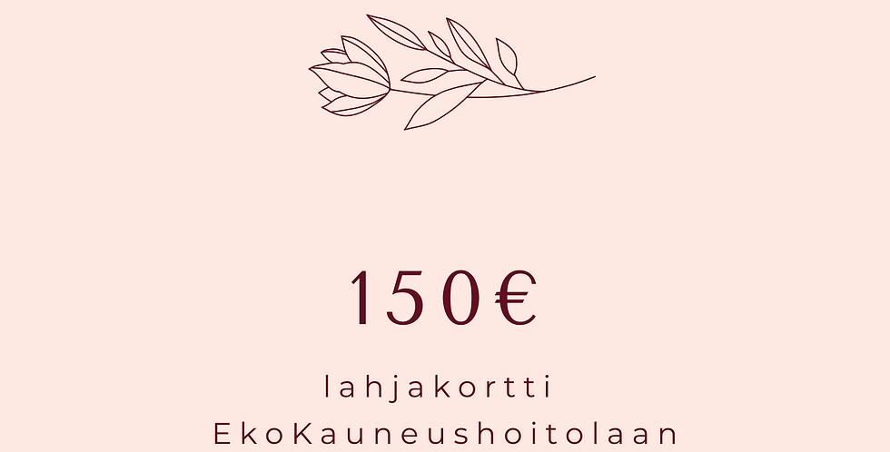 Lahjakortti 150€ hoitola & Shop