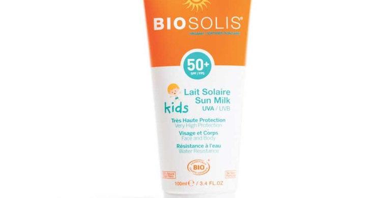 Biosolis aurinkoemulsio lapsille spf 50 100ml