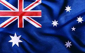 Fabric texture of the flag of Australia.