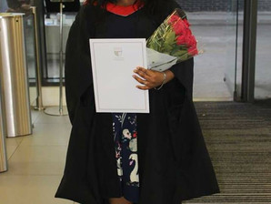 Another Jokings Educare student graduates with Distinction