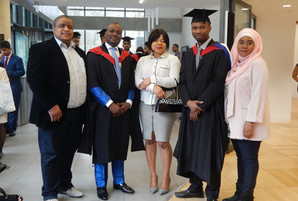 Thursday 16, 2017 was graduation day for University of Bedfordshire students