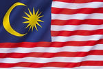 The national flag of Malaysia, also know