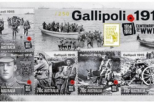 World War I Centenary of Gallipoli