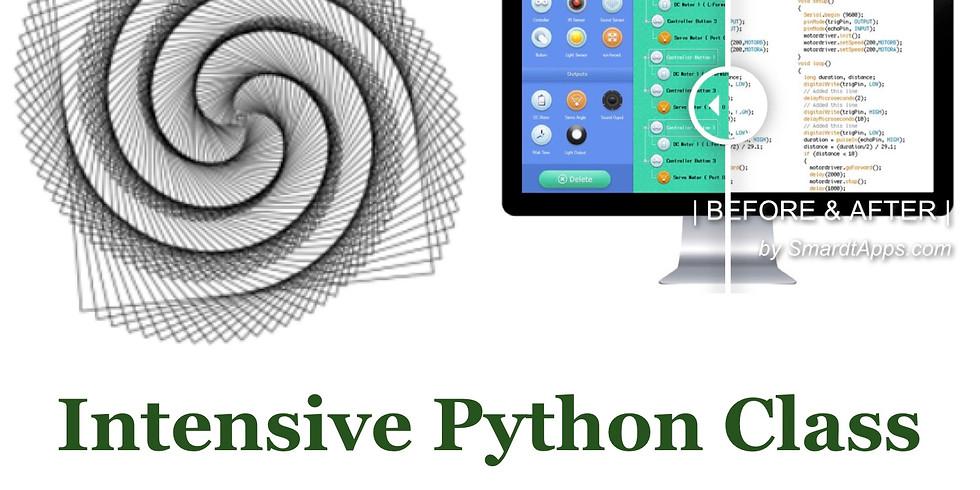 Spring Break Intensive Python Class (3/24~3/26, 9:00-12:00)