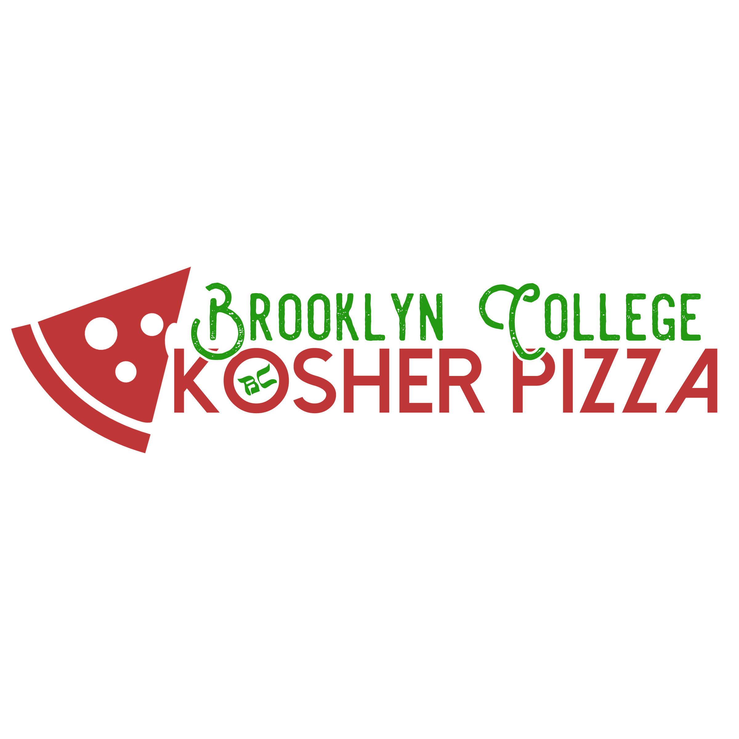 2 Color Pizza Logo #2