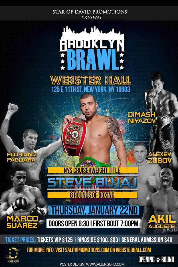 Brooklyn Brawl Webster Hall Ad