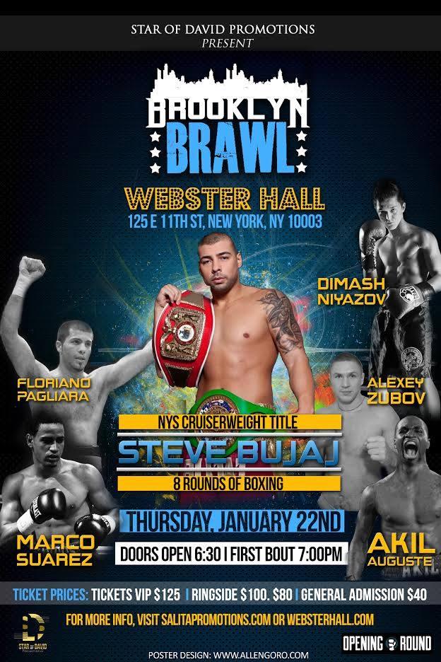 Brooklyn Brawl Webster Hall Ad