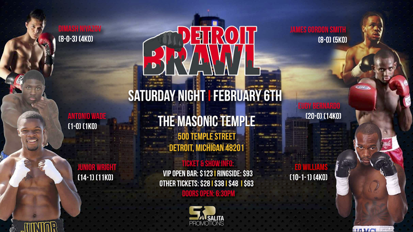 Detroit Brawl Ticketmaster Banner