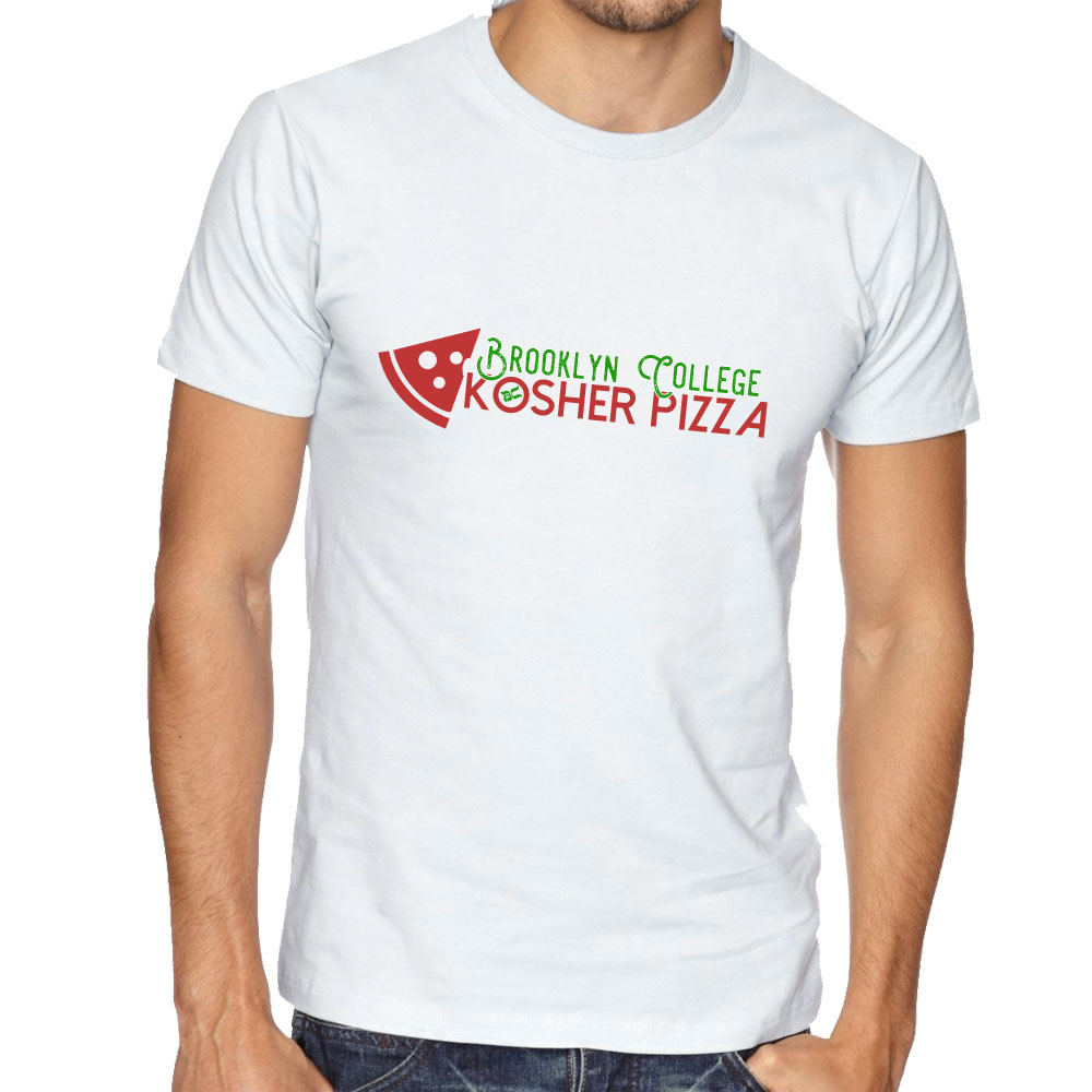 BC Pizza Shirt (White)