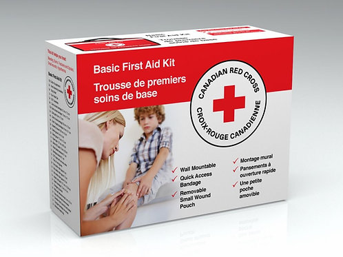 Red Cross - Basic First Aid kit