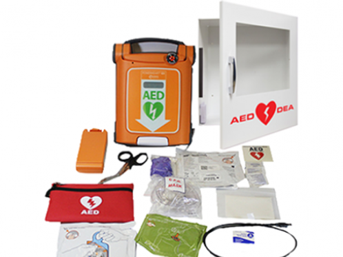 AED - G5 Fully-Auto (Bilingual) with Wall Cabinet Package