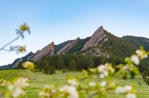 Flatirons of Boulder