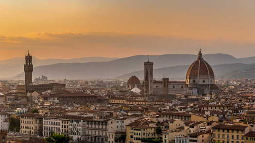 Duomo over Florence