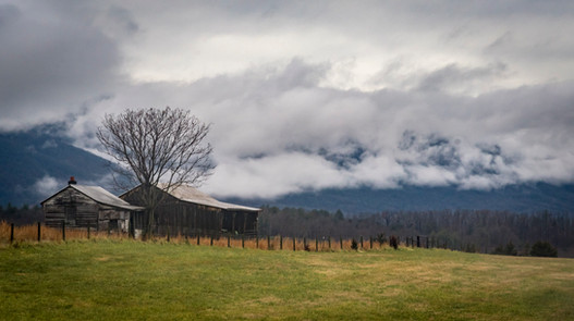 Blue Ridge Clouds