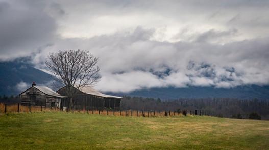 Clouds on the Blue Ridge