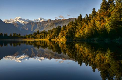 Lake Matheson Morning