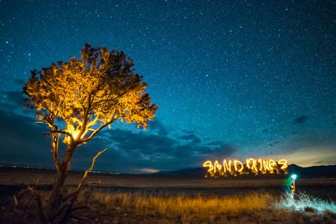 Sand Dunes Light