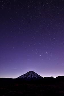 Last Light on Mt. Doom
