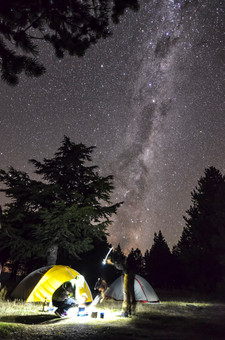 First Night in New Zealand