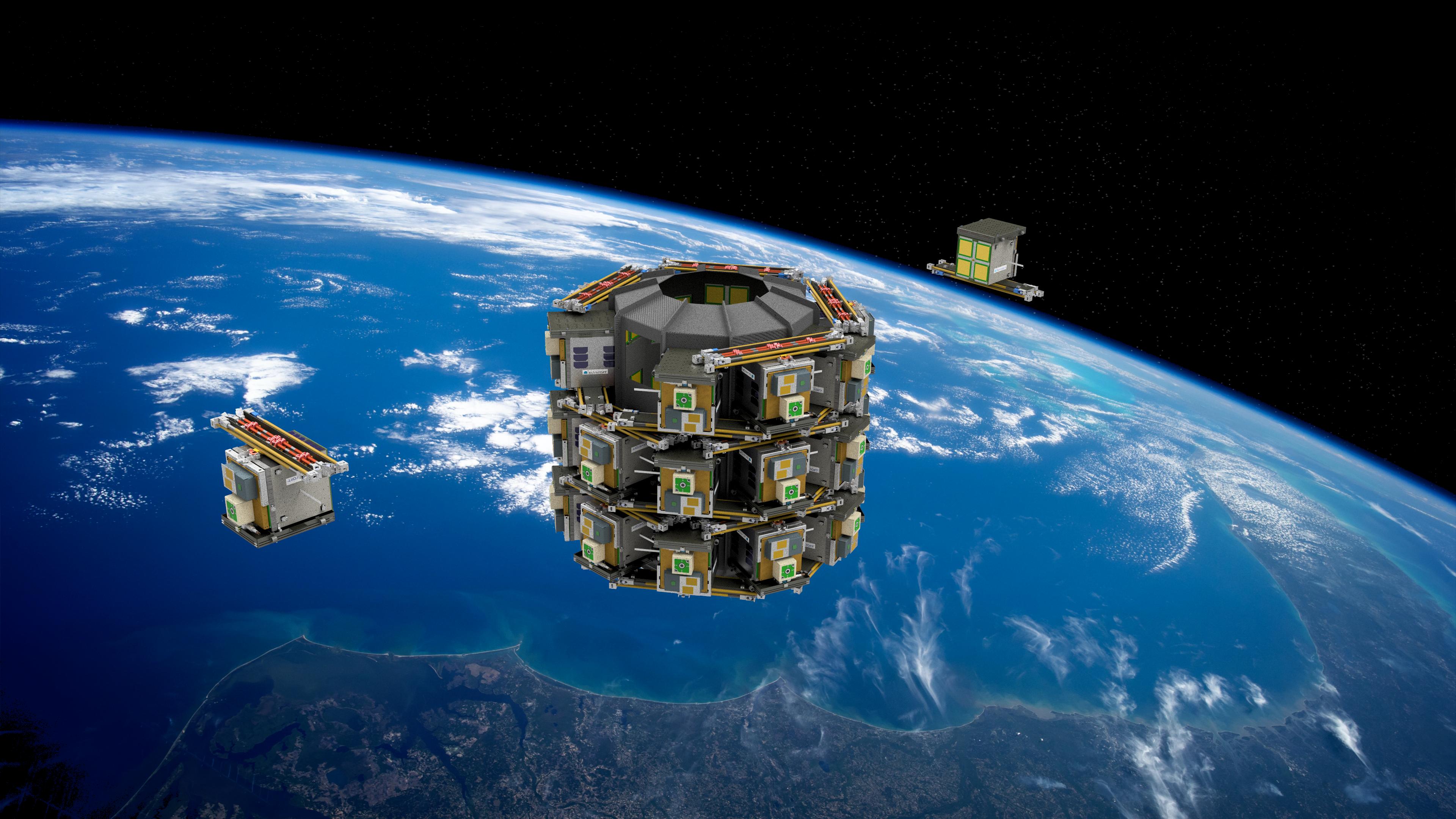 Space Constellation page - Skykraft laun