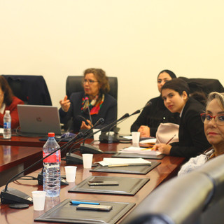 Our students receiving mentoring in Rabat