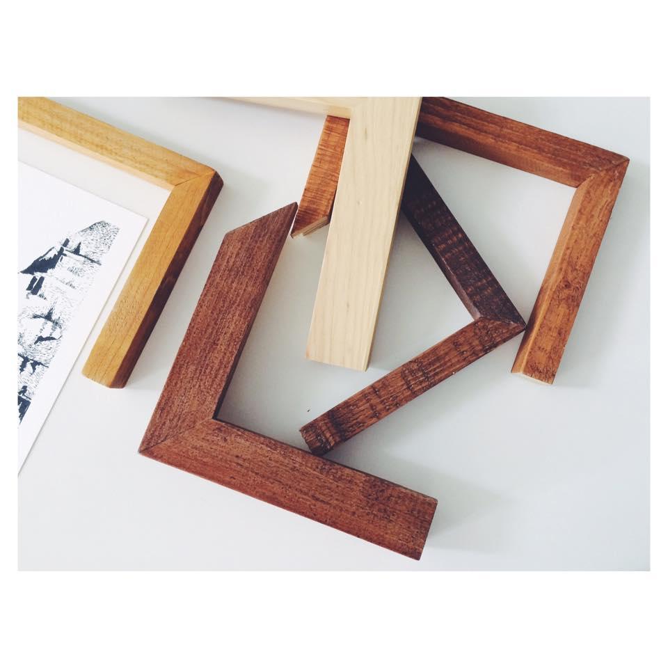 Produção de molduras em madeira