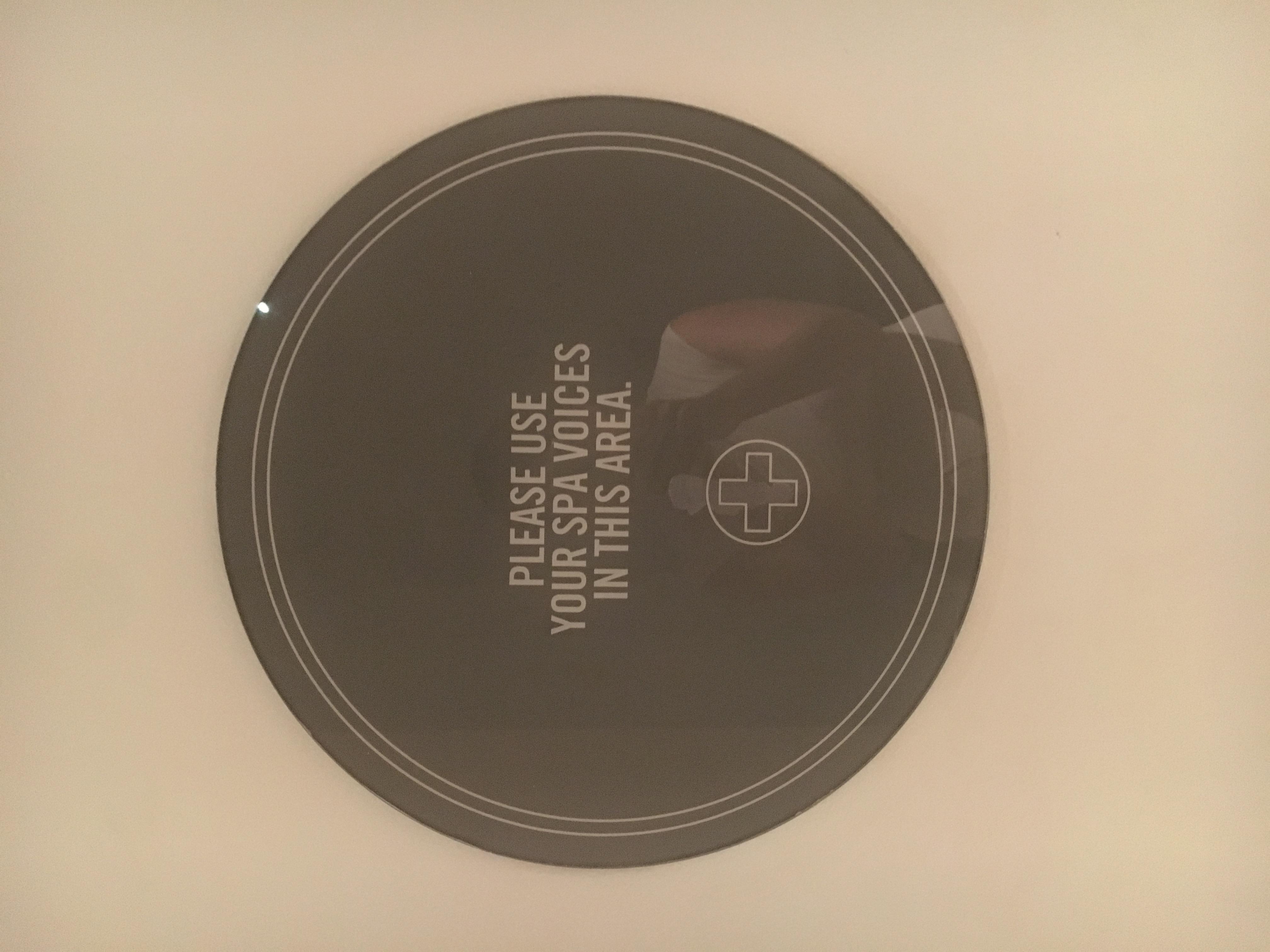 Acrylic round sign.JPG