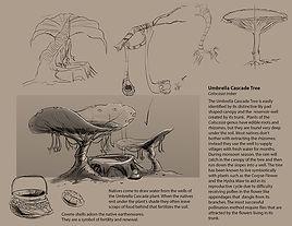 Fantasy Science Fiction Sci Fi Plants Sketches