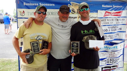 1st in Tournament with Davis Lures