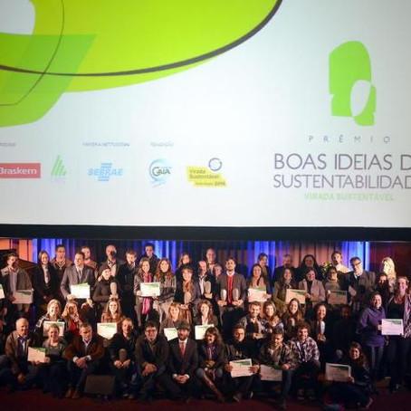 Prêmio Boas Ideias de Sustentabilidade elege 12 vencedores