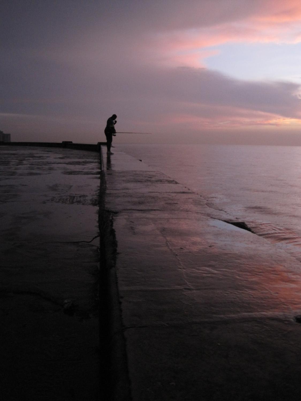Malecón Fisherman