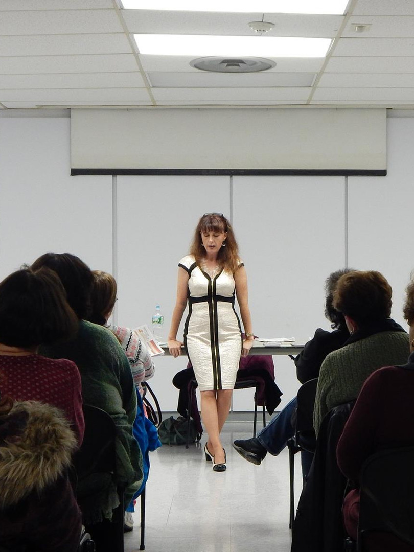 Live demonstration of Mediumship at a Library