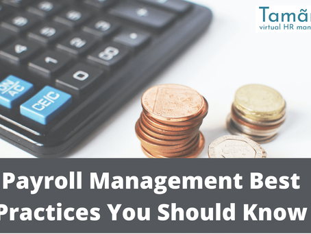 Payroll Management Best Practices You Should Know