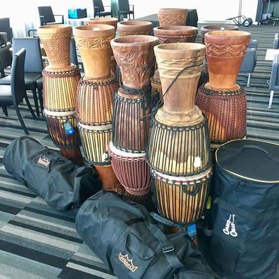 #drumin #drumcircles #djembe #corporateevents #集體鼓樂