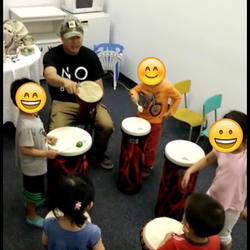 #drumin #drumforwellness #fightautism #drumcircle