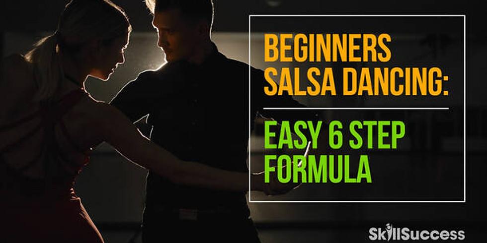 Online Class -- Beginners Salsa Dancing: Easy 6-Step Formula