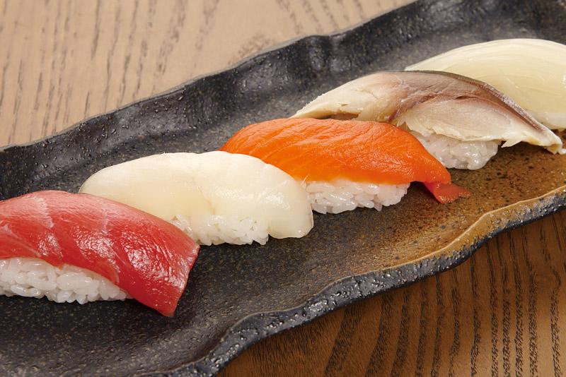 寿司 5 貫