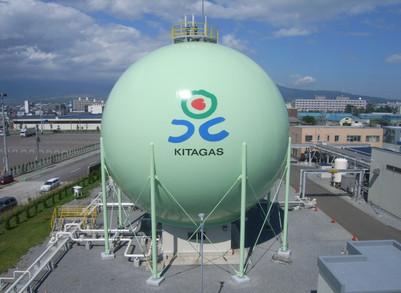 球形ガスホルダー