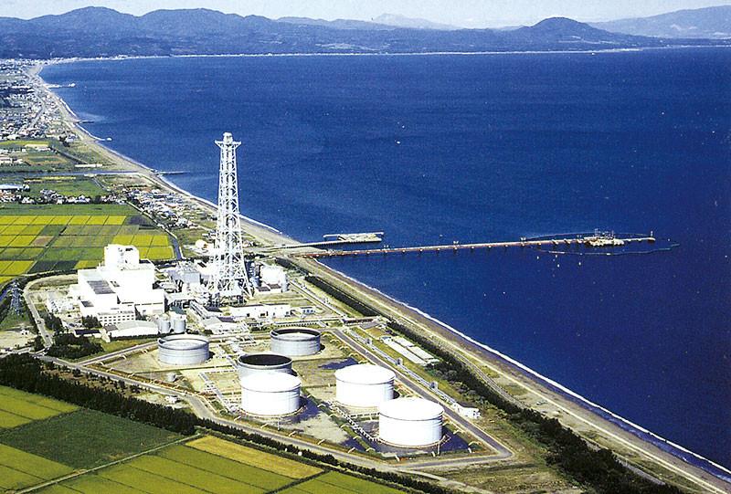 北海道電力 知内発電所