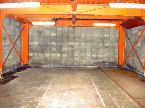 倉庫 アスベスト除去 完了