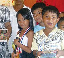 フィリピンの子ども達