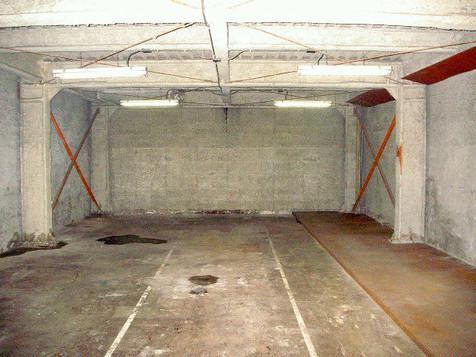 倉庫 アスベスト除去 施工前