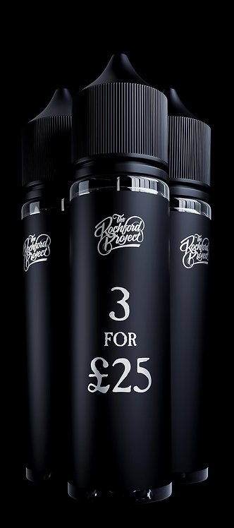 3 For £25